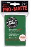 Ultra Pro Green Pro Matte Standard Sleeves