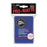 Ultra Pro Blue Pro Matte Standard Sleeves