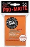 Ultra Pro Orange Pro Matte Standard Sleeves
