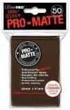 Ultra Pro Brown Pro Matte Standard Sleeves
