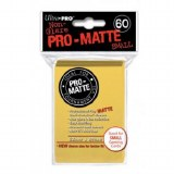 Ultra Pro Yellow Pro Matte Small Sleeves