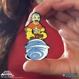Avatar The Last Air Bender Aang On Scooter Lapel Pin