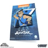 Avatar The Last Air Sokka with Boomerang Weapon Lapel Pin