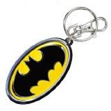 Batman Symbol Pewter Keyring