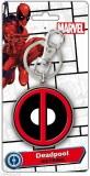 Deadpool Symbol II Pewter Keyring