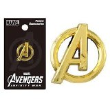 Avengers Infinity War Gold Logo Pewter Lapel Pin