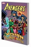 Avengers TP Vision and the Scarlet Witch