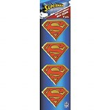 Superman 4 Pc Metal Sticker