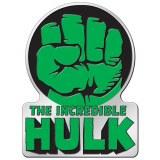 Hulk Fist Metal Sticker