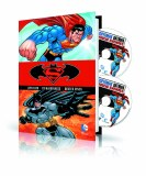 Superman Batman Vol 1 HC Book & Dvd Blu Ray Set