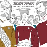 Star Trek Next Gen Adult Coloring Book TP Continuing Mission