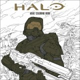 Halo Adult Coloring Book TP