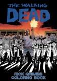 Walking Dead Rick Grimes Adult Coloring Book