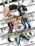 Danger Girl Permission To Thrill Coloring Book TP