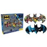Batman 600pc 2 Sided Puzzle