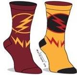 Flash/Reverse Flash Reversible Socks