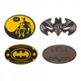 Batman 4 Piece Enamel Pin Set