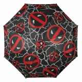 Deadpool All Over Print Logos LED Umbrella