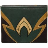 Aquaman Chrome Weld Patch Bifold Wallet