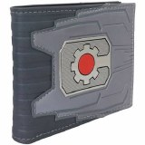 Cyborg Chrome Weld Patch Bifold Wallet