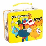 The Beatles Yellow Submarine Vintage Large Tin Tote Lunch Box