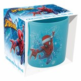 Marvel Spider-Man 20oz Holiday Ceramic Mug