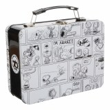 Peanuts Comic Strip Large Tin Tote Lunch Box