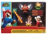 Nintendo 2.5 In Lava Castle Diorama Set