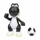 World of Nintendo Black Yoshi with Egg 4in Action Figure