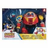 Sonic the Hedgehog Giant Eggman Robot Battle Figure Set
