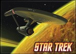 Star Trek Enterprise on Yellow Magnet