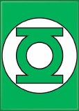 Green Lantern Symbol Magnet