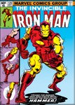 Invincible Iron Man #126 Magnet