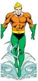 DC Aquaman Notecard