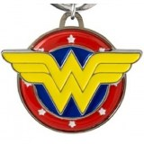 DC Wonder Woman Color Pewter Keychain