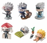 Naruto Petit Chara Land Kakashi Special Mini Fig Set
