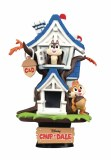 Disney DS-028 Chip N' Dale Treehouse D-Stage PX 6In Statue