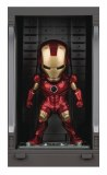 Iron Man 3 Mea-015 Iron Man Mk III w/ Hall Of Armor PX Figure