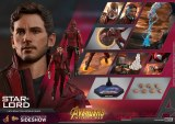 Hot Toys Avengers Infinity War Star-Lord 1/6 Action Figure