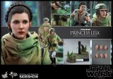 Hot Toys Star Wars Return of the Jedi Princess Leia Organa Combat Poncho 1/6 AF