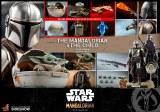 Hot Toys Star Wars The Mandalorian Mandalorian/Child 1/6 Scale Deluxe Action Figure Set