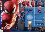 Hot Toys Spider-Man Video Game 1/6 Advanced Suit Spider-Man Action Figure