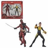 Marvel Legends X-Men Deadpool and Negasonic Teenage Warhead 6-Inch Action Figure 2-Pack