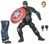 Marvel Legends Avengers Gamerverse Stealth Captain America Action Figure