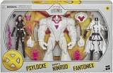 Marvel Legends X-Men Psylocke/Fantomex/Nimrod Action Figure 3 Pack