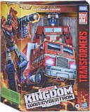 Transformers Kingdom War for Cybertron Optimus Prime Leader Class Action Figure
