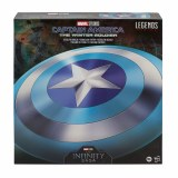 Marvel Legends Captain America Winter Soldier Stealth Shield Prop Replica