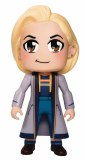 Sdcc Doctor Who Kawaii 13th Doctor Blue Coat 6.5 In Vinyl Fig