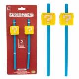 Super Mario Bros Block Straws