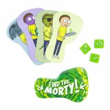 Rick and Morty Find the Morty Card/Dice Game